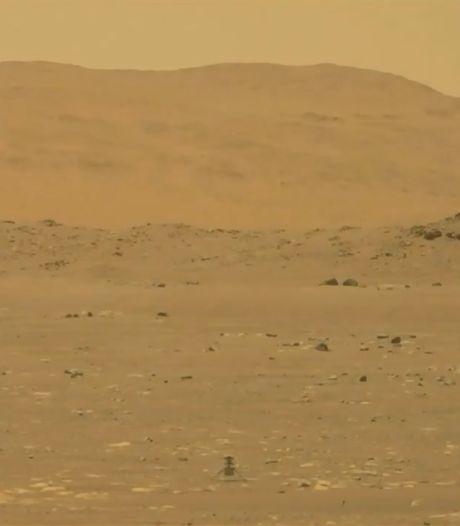 Ingenuity a effectué son premier vol sur Mars