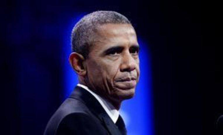 President Obama. Beeld ANP