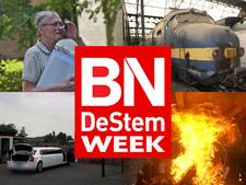 Oude trein naar Roosendaal, brand op boot en witwasonderzoek FIOD