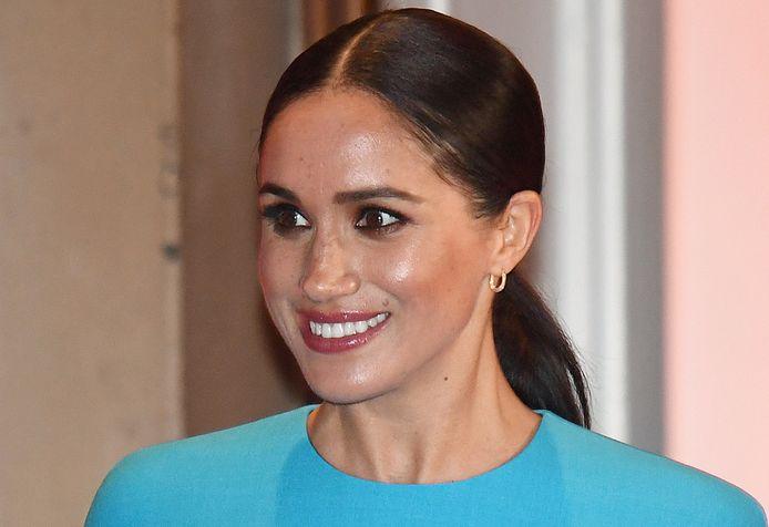 Meghan, de hertogin van Sussex, heeft haar eerste klus als niet-royal.