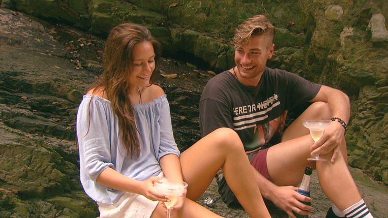 Megan en vrijgezel-verleider Joshua. Beeld VIJF