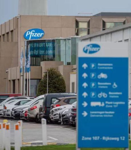 """Les employés de Pfizer à Puurs seront bien vaccinés dès la semaine prochaine: """"Ils doivent rester en bonne santé"""""""