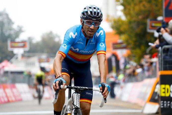 Alejandro Valverde wordt volgend jaar de oudste renner in de WorldTour.