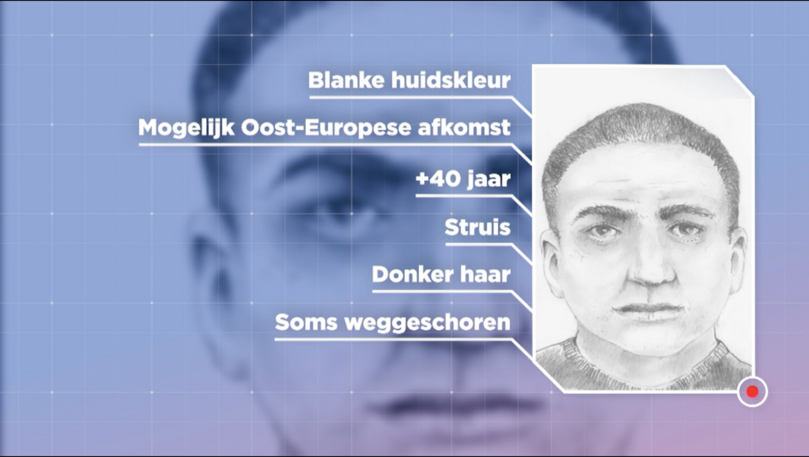 In het opsporingsprogramma Faroek gaf de politie een uitgebreid signalement van de man.