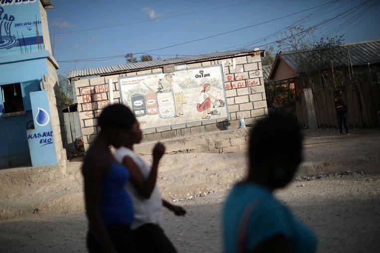 Oxfam is al vijftig jaar actief in Haïti.  Beeld REUTERS
