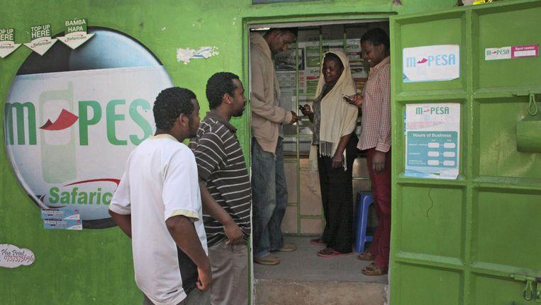 Afrika Leren Bank.Het Beloofde Continent Voor Banken Trouw