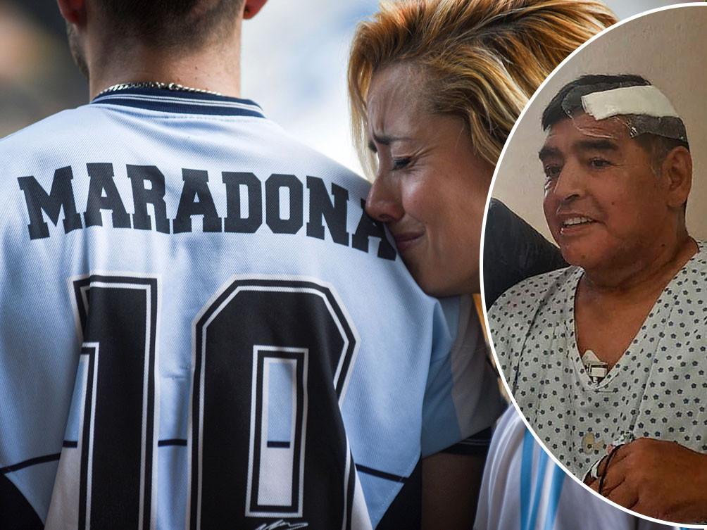 Overal ter wereld rouwen fans om Diego Maradona.