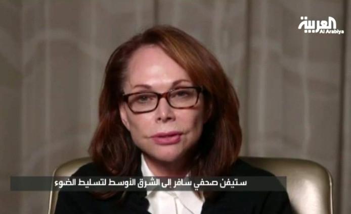Shirley Sotloff vraagt in een videoboodschap aan IS haar zoon Steven vrij te laten.
