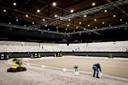 Nog voordat het evenement in 2020 van start  kon gaan, ruimden medewerkers alles weer op. Eén uur voor aanvang van Indoor Brabant The Dutch Masters ging er streep door de editie van 2020.