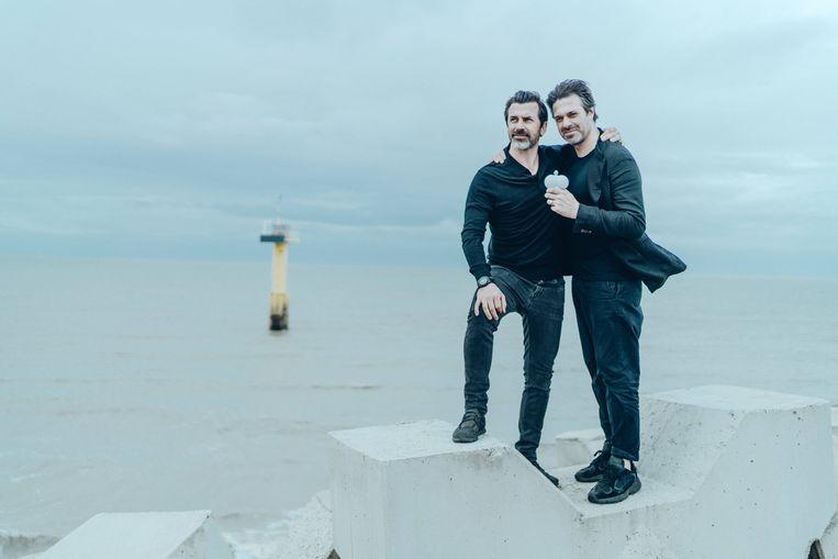 Andreas Caminada en Sergio Herman. Beeld Thomas Sweertvaegher