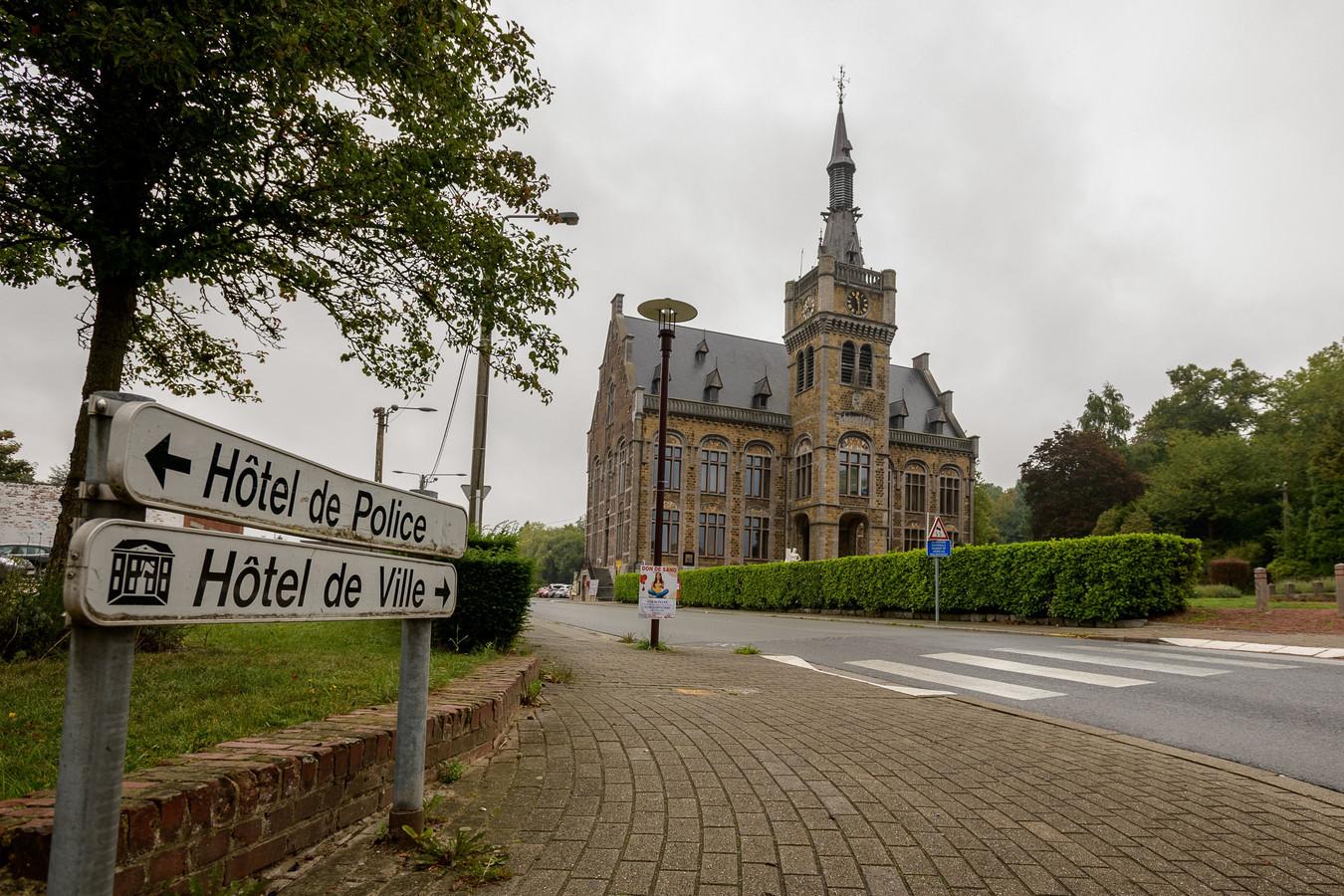 L'Hôtel de Ville de Courcelles