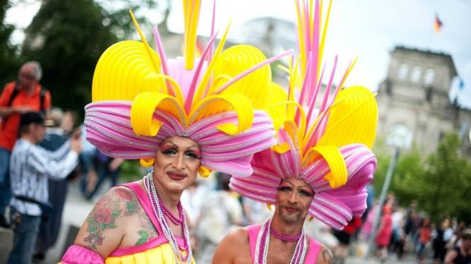 Gay Pride in Berlijn lokt honderdduizenden deelnemers