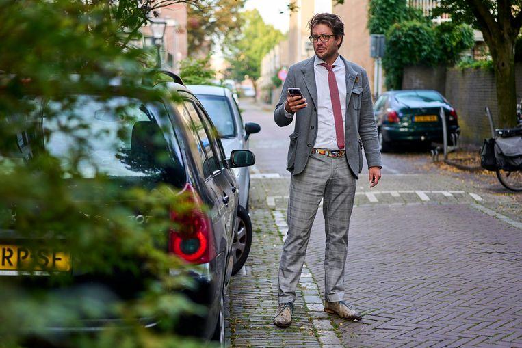 Reinier Feiner, voorzitter van de Vereniging Sociale Advocatuur Nederland. Beeld Phil Nijhuis