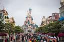 Disney afgelopen zomer, toen het park nog open was