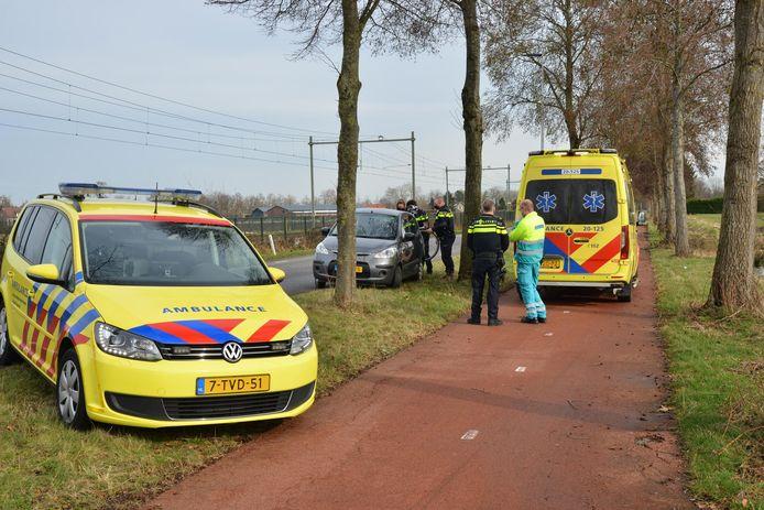 Het ongeval vond plaats op de Liesbosweg in Etten-Leur.