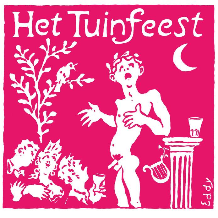 Het Tuinfeest voorafgaande aan de Deventer Boekenmarkt herbergt verschillende dichters