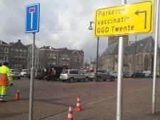 Een week vaccineren in Oldenzaal: gasten zijn het spoor soms even bijster