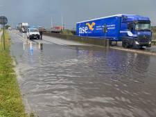 Wolkbreuk veroorzaakt wateroverlast in regio rond Zeebrugge