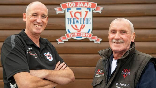 Vader en zoon Kiezenberg zijn samen goed voor ruim 100 jaar SV Terwolde: 'De club is onze tweede familie'