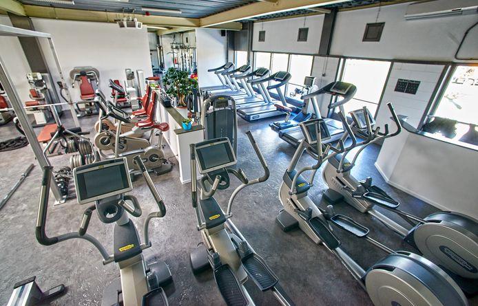 De lege sportschool van Van Buel te Oss.