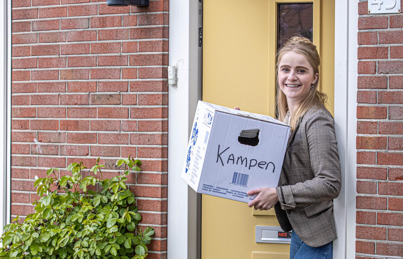 DS-20211-9075 Zwolle    Margriet Boersma vertrekt als CDA-raadslid. Ze verhuist naar Kampen.    Foto Frans Paalman Zwolle © 2021