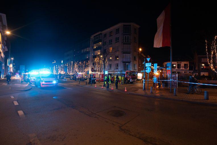 Het centrum van Hasselt werd opgeschrikt door een gasontploffing. Beeld Mine Dalemans