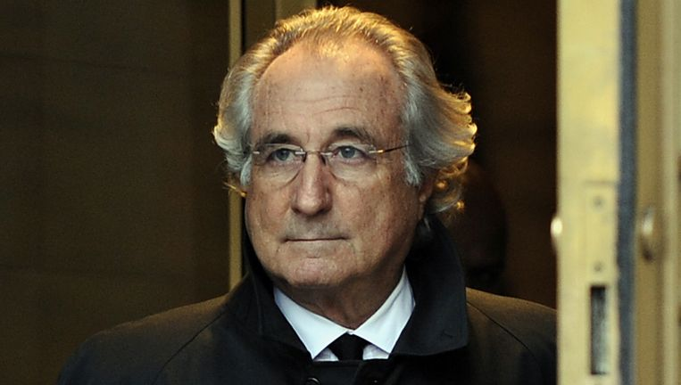 Bernie Madoff. Beeld AFP