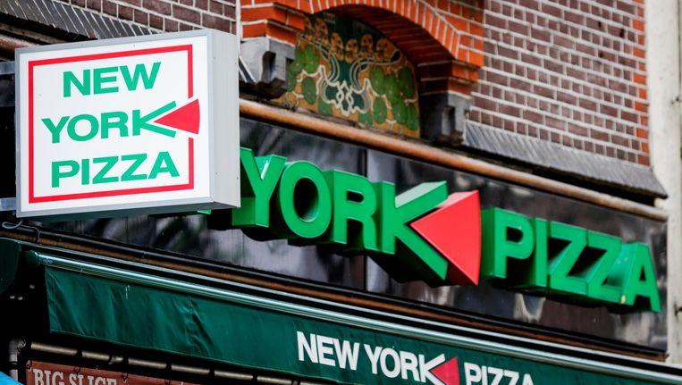 Op nummer 53 mocht New York Pizza niet open, omdat het niet voldeed aan de eisen van een restaurantvergunning. Beeld anp
