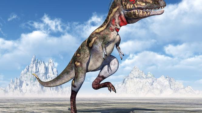 Studie bewijst dat 7 soorten dino's permanent op Noordpool leefden