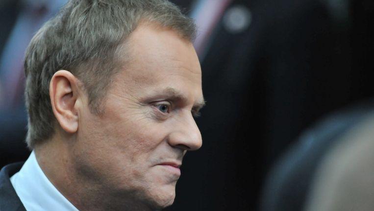 Minister president Donald Tusk. Beeld AFP