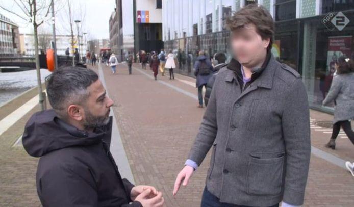 Nelson in gesprek met Danny Ghosen