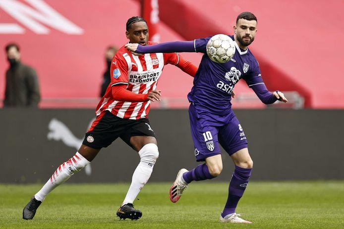 Smaakmaker Rai Vloet treft op de eerste speeldag meteen zijn oude club PSV.