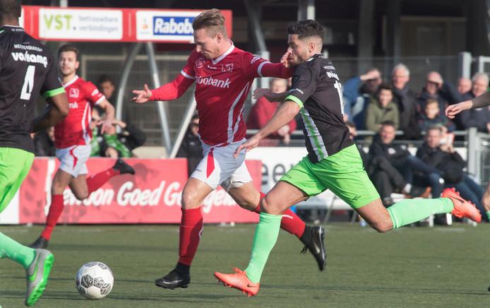 DOVO speelt zaterdag in Noordwijk tegen SJC, nieuwkomer in de derde divisie.