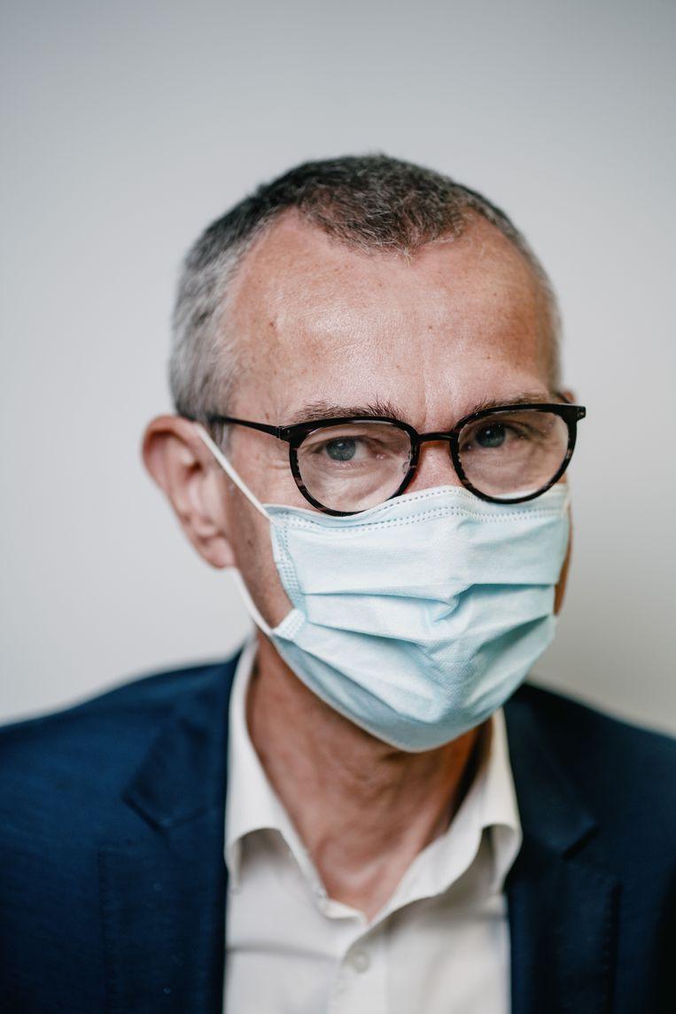 'Wie zich tegen alle wetenschappelijke evidentie niet wil laten inenten, hoort niet thuis in de zorgsector.' Beeld Wouter Van Vooren