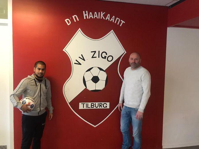 Antal Tooten (links) is de nieuwe trainer van Zigo.