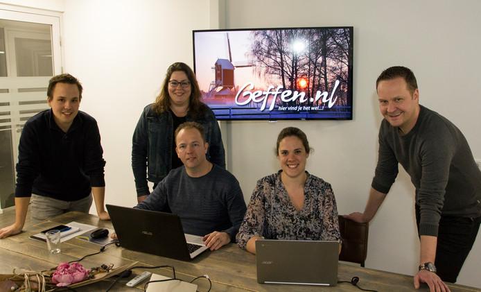 Deze werkgroep heeft zich ingezet voor het optuigen van de website Geffen.nl