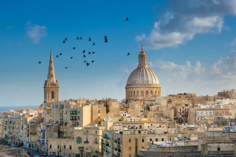 Valetta, Malta. Beeld Thinkstock