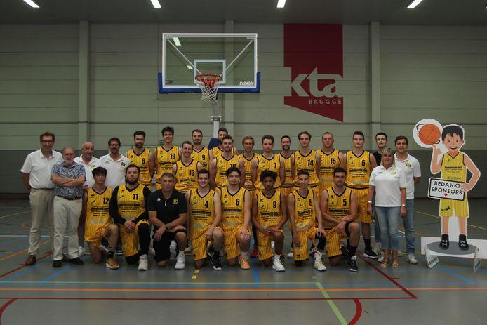 De One van Racing Brugge speelde zaterdag een galawedstrijd tegen Basket SKT Ieper.