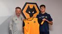 Justin Hubner maakte in januari 2020 de overstap van FC Den Bosch naar Wolverhampton Wanderers