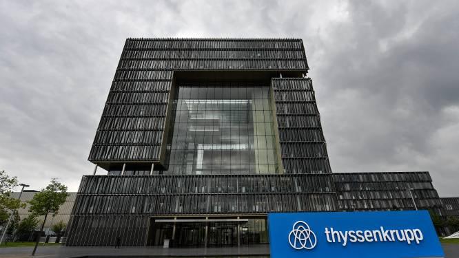 ThyssenKrupp wil dan toch naakte ontslagen vermijden