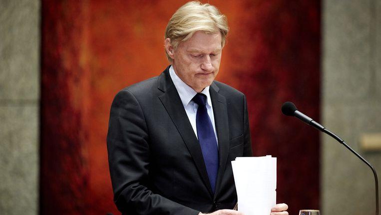 Staatssecretaris Martin van Rijn Beeld ANP