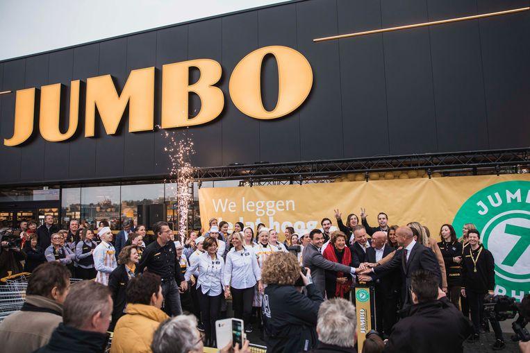 Woensdag opende de eerste Jumbo winkel in België de deuren in Pelt (Limburg).