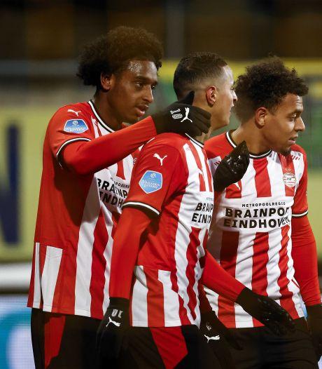 Pablo Rosario gelooft in het systeem dat PSV speelt: 'Veel wedstrijden gespeeld waarin het goed ging'