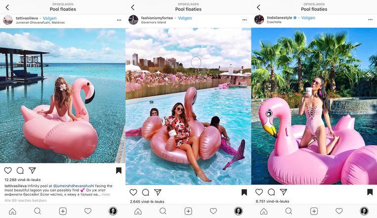'Floaties'. Beeld Instagram