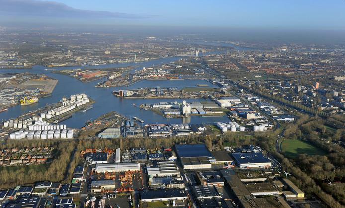 De meeste banengroei wordt verwacht op de Dordtse industrieterreinen ten westen van de A16, zoals Dordtse Kil.