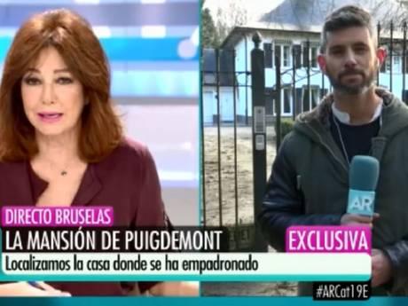 Spaans tv-programma onthult verblijfplaats gevluchte Puigdemont