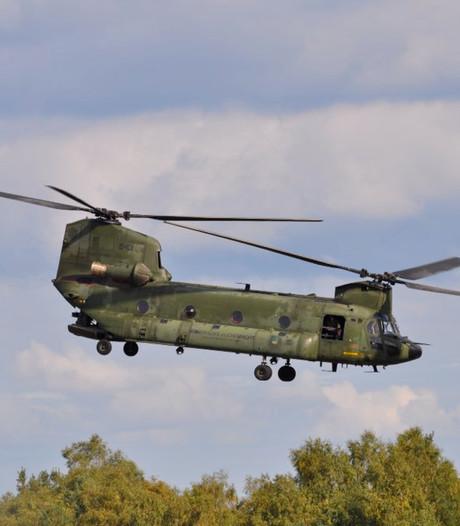 Laagvliegende helikopters; het mag wel wat minder