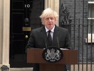 Britse premier Johnson reageert op dood van prins Philip