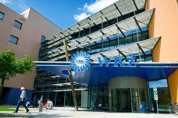 Het Wilhelmina Kinderziekenhuis (WKZ) in Utrecht, waarvan het Prinses Maxima Centrum onderdeel is.