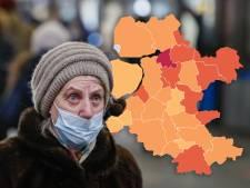 KAART | Aantal coronabesmettingen in Oost-Nederland stijgt verder ondanks daling in IJsselland